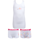 Fun2wear meisjes set 2 boxers 'Ice cream' wit